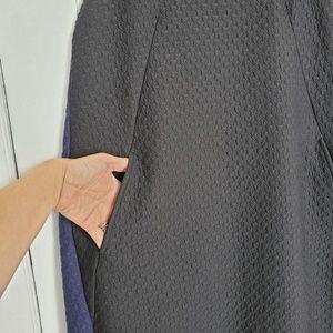 Anthropologie Dresses - Anthropologie Maeve dress size medium blk/blue